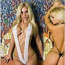 ieftine Machiaj Halloween-Pentru femei Femeie Sexy Uniforme sexy Sex Costume Cosplay Lenjerie Gol Leotard / Onesie Tanga