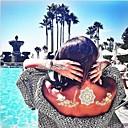 ieftine Tatuaje Temporare-1 pcs Acțibilde de Tatuaj Tatuaje temporare Serie de Flori / Serie de Bijuterii Rezistent la apă / Non Toxic / Hawaiian Arta corpului / Spate Zona De Jos / Waterproof