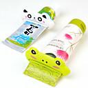 رخيصةأون أدوات الحمام-أغراض الحمام تصلح للسفر / متعددة الوظائف / صديقة للبيئة كرتون بلاستيك 1 قطعة - حمام فرشاة الأسنان وملحقاتها / هدية