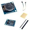 ieftine Module-I2C ds1307 modul ceas de timp real mica RTC 2560 uno R3 și accesorii pentru Arduino