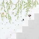 povoljno Ukrasne naljepnice-Dekorativne zidne naljepnice - Zidne naljepnice Ljudi / Botanički / Crtani film Stambeni prostor / Spavaća soba / Kupaonica / Može se prati / Odstranjivo