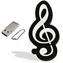 رخيصةأون ملصقات ديكور-16GB محرك فلاش USB قرص أوسب USB 2.0 بلاستيك أدوات الموسيقى كرتون