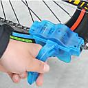 olcso Pedálok-Lánctisztító kefe Lánctisztító szerszám Egyszerű mosás Lánc- és fogaskerék tisztás 360°-os lánctisztító kefe Kényelmes Kompatibilitás Treking bicikli Mountain bike Kerékpározás Műanyag ABS Kék 1 pcs