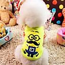 رخيصةأون مخففات التوتر-كلب T-skjorte ملابس الكلاب الصوفية كوستيوم من أجل الصيف الكوسبلاي