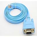 povoljno Maske/futrole za LG-RS232 DB9 com serijski port na konfiguracijskom prekidač linije linije podaci RJ45 kabel glava