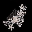 ieftine Bijuterii de Păr-Aliaj Îmbrăcăminte de păr / Veșminte de cap cu Floral 1 buc Nuntă / Ocazie specială / Casual Diadema