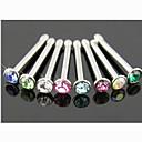 ieftine Piercing Tragus-Pentru femei Bijuterii de corp Inelul nasului / nasul Stud / Piercing nas / nasul Piercing Cristal Design Unic / Modă Cristal / Diamante Artificiale Costum de bijuterii Pentru Zilnic / Casual Vară