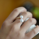 povoljno Prstenje-Žene Band Ring prsten za palac Biseri Zlatan Biseri dame Neobično Jedinstven dizajn Vjenčanje Party Jewelry Prilagodljiv