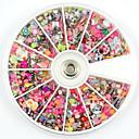 ieftine Îngrijire Unghii-2000 pcs Bijuterie unghii Perlă Ștrasuri Încântător nail art pedichiura si manichiura Zilnic Fructe / Floare / Abstract / Teracotă / Unghiul de bijuterii