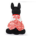 رخيصةأون أغطية أيفون-قط كلب ملابس الكلاب أحمر كوفي كوستيوم قطن XXS XS S M L