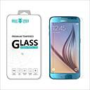 رخيصةأون حافظات / جرابات هواتف جالكسي S-حامي الشاشة إلى Samsung Galaxy S6 زجاج مقسي حامي شاشة أمامي (HD) دقة عالية