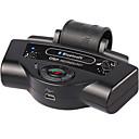 voordelige Bluetooth autokit/handsfree-bluetooth auto kits ingebouwde batterij mp3 speler stuur luidspreker draagbare ondersteuning a2dp auto oplader
