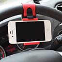 povoljno Maske/futrole za Huawei-univerzalni auto telefon nositelj upravljač kotača isječak montirati gumicu mobilni telefon stajati za iphone samsung xiaomi huawei android
