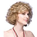 ieftine Bijuterii de Corp-Peruci Sintetice Drept Ondulee Naturale Buclat Frizură în Straturi Perucă Scurt Auriu Păr Sintetic Pentru femei Linia naturală de păr Maro