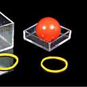 رخيصةأون مخففات التوتر-دعامة سحر الكرة من خلال صندوق شفاف
