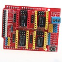 povoljno Matične ploče-CNC stroj za graviranje štit v3 3D pisač a4988 ploča za proširenje vozač odbora za Arduino