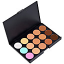 15 Colors Concealer Cream Concealer / Contour Dry / Wet / Matte Waterproof / Whitening / Fast Dry Face Makeup Cosmetic