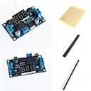 ieftine Module-lm2596 dc-dc module reglabile pas în jos cu un ecran de metri de tensiune și accesorii