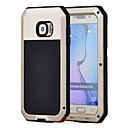 رخيصةأون حافظات / جرابات هواتف جالكسي S-غطاء من أجل Samsung Galaxy S6 / S5 / S4 ضد الماء / ضد الصدمات / ضد الغبار غطاء كامل للجسم درع قاسي معدن