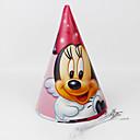 povoljno Dijelovi za motocikle i ATV-Minnie Mouse papir šešir 12pcs