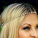 رخيصةأون مجوهرات الشعر-نسائي أنيق لؤلؤ تقليدي سبيكة رباطات شعر مناسب للبس اليومي فضفاض