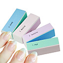 ieftine Pile de Unghii & Tampoane-1buc 4-way multi-color unghii bloc tampon de șlefuire fișiere