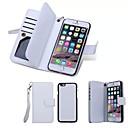 ieftine Gadget Baie-Maska Pentru Apple iPhone 8 Plus / iPhone 8 / iPhone 6s Plus Portofel / Titluar Card / Întoarce Carcasă Telefon Mată Greu Piele autentică