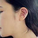 ieftine Ring Bracelets-Pentru femei Cercei Stud Cătușe pentru urechi Cercei cu spirală femei Small cercei Bijuterii Auriu / Argintiu Pentru Zilnic Casual