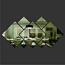رخيصةأون جواكيت رجالي-لواصق حائط مزخرفة - ملصقات الحائط على المرآة أشكال غرفة الجلوس / غرفة النوم / دورة المياه / قابل للنقل