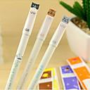 ieftine Instrumente Scris & Desen-Stilou Stilou Pixuri cu Gel Stilou, Plastic Negru Culori de cerneală For Rechizite școlare Papetărie Pachet de