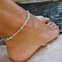 povoljno Modne ogrlice-Žene Tirkiz Kratka čarapa Jedinstven dizajn Moda Small Smaragd Tirkiz Kratka čarapa Jewelry Za Dnevno Kauzalni Sport