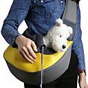ieftine Jucării Câini-Pisici Câine Portbagaje & rucsacuri de călătorie Umăr Bag Genti de umar sling Portabil Respirabil Animale de Companie  Caine mic Coșuri Material Textil Mată Mov Galben Verde