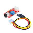povoljno Raspberry Pi-Senzor zvuka (crvena) 1 rupu bijelu terminal s 3pin DuPont žice