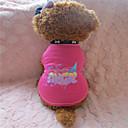 رخيصةأون حافظات / جرابات هواتف جالكسي A-كلب T-skjorte ملابس الكلاب وردي كوستيوم قطن XS S M L