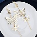 ieftine Cercei-Pentru femei Cercei Picătură Ieftin femei Elegant cercei Bijuterii Argintiu / Auriu Pentru Nuntă Petrecere Zilnic Casual