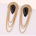 cheap Earrings-Women's Drop Earrings Drop Statement Ladies Gold Plated Earrings Jewelry Screen Color For Wedding Masquerade Engagement Party Prom Promise
