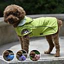 ieftine Imbracaminte & Accesorii Căței-Câine Haină de ploaie Îmbrăcăminte Câini Mov Verde Albastru Costume Plastic Nailon Impermeabil XS S M L XL XXL
