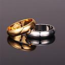 ieftine Inele-Pentru femei Band Ring Inel Auriu Argintiu Placat cu platină Placat Auriu Aliaj femei Simplu Vintage Petrecere Aniversare Bijuterii Prietenie Draguț