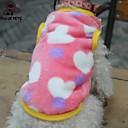 رخيصةأون ملابس وإكسسوارات الكلاب-قط كلب T-skjorte الشتاء ملابس الكلاب أسود زهري كوستيوم القطبية ابتزاز قلب الكوسبلاي الزفاف XS S M L XL