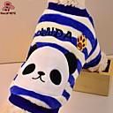 ieftine Alte lumini LED-Pisici Câine Hanorca Iarnă Îmbrăcăminte Câini Rosu Albastru Costume Lână polară Desene Animate Casul / Zilnic XXS XS S M L