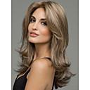 ieftine Peruci & Extensii de Păr-Peruci Sintetice Ondulat Ondulat Perucă Blond Mediu Păr Sintetic Pentru femei Blond StrongBeauty