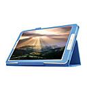 voordelige Samsung-hoes voor tablets-hoesje Voor Samsung Galaxy Tab E 9.6 met standaard / Flip Volledig hoesje Effen PU-nahka