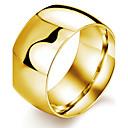 ieftine Ustensile & Gadget-uri de Copt-Bărbați Band Ring degetul mare Negru Auriu Alb Oțel titan Placat Auriu Modă Dubai Petrecere Zilnic Bijuterii