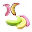ieftine Tratamente de Fereastră-drăguț cutie de banane protector de caz protector de depozitare în aer liber magazin de prânz