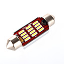 povoljno Šminka i njega noktiju-39mm Automobil Žarulje 6 W SMD LED 540 lm 12 Svjetla u unutrašnjosti