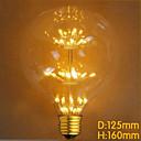 povoljno LED žarulje s nitima-1pc E27 G125 220-240 V / 110-130 V