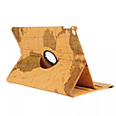 voordelige Galaxy A8 Hoesjes / covers-hoesje Voor Apple iPad Mini 4 360° rotatie / met standaard / Origami Volledig hoesje Landschap PU-nahka