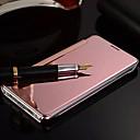 voordelige Galaxy S6 Edge Plus Hoesjes / covers-hoesje Voor Samsung Galaxy S8 Plus / S8 / S7 edge Spiegel / Flip Volledig hoesje Effen PC