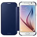 رخيصةأون حافظات / جرابات هواتف جالكسي S-غطاء من أجل Samsung Galaxy S7 edge / S7 / S6 edge plus تصفيح غطاء كامل للجسم لون سادة الكمبيوتر الشخصي