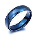 رخيصةأون صيني-رجالي عصابة الفرقة أزرق الصلب التيتانيوم سيدات موضة مناسب للحفلات مناسب للبس اليومي مجوهرات